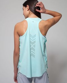 Set Motion Tank | Laser cut hem won't weigh you down while conditioning for your sport