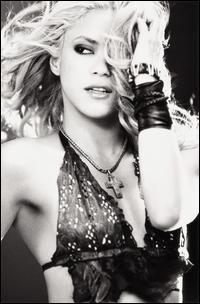 Shakira.  Click Image to view Biography and Discography