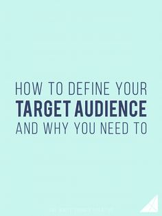 How to Define Your Target Audience and Why You Need To - Melissa Carter Design Branding Your Business, Business Tips, Communication, Creating Wealth, Marketing Techniques, Startup, Target Audience, Social Media Tips, Finding Yourself