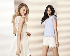 Summer 2014 Women Outfit Ideas: Go Classic with White and Off White!