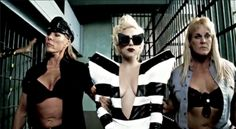 Lady Gaga Telephone Video in Mercura original cat ear sunglasses 2