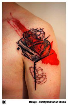 Mowgli, tattoo artist Archway, London OhhMyGod Tattoo Studio