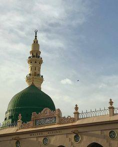 Islamic Images, Islamic Pictures, Ramadan, Al Masjid An Nabawi, Eid Mubarak Quotes, Medina Mosque, Mecca Kaaba, Green Dome, Noble Quran