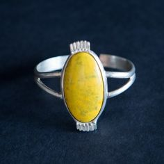 Bumble Bee Jasper Cuff Yellow Rings, Jasper, Bee, Gemstone Rings, Jewelry Design, Gemstones, Accessories, Honey Bees, Gems