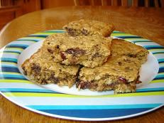 Chocolate-Cranberry Oat Bars | Tasty Kitchen: A Happy Recipe Community!