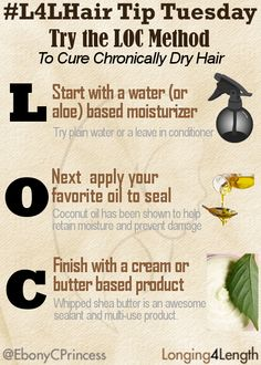 #L4LHair Tip Tuesday: The LOC Method - Longing 4 Length