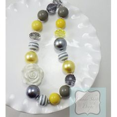 Grey Envy Boutique Chunky Necklace