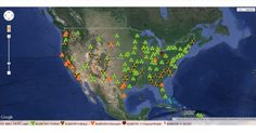 28 Signs That The West Coast Is Being Absolutely Fried With Nuclear Radiation From Fukushima The map below comes from