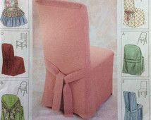 Check out our chair cover patterns selection for the very best in unique or custom, handmade pieces from our chair slipcovers shops. Dining Chair Slipcovers, Dining Chairs, Essentials, Pattern, Etsy, Women, Fashion, Moda, Fashion Styles