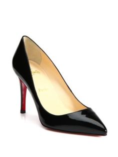 db550fbadf22 Christian Louboutin - Decollete Patent Leather Pumps