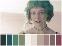 Movie Color Palette, Palette Art, Cinema Colours, Scott Pilgrim, Furniture Styles, Cinematography, Color Schemes, Makeup Looks, Portrait