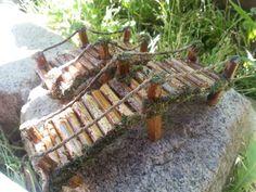 Miniature Bridge Fairy GardenFairy Garden Bridgewood