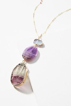 SALE Extra 30% OFF Serefina Glistening Amethyst Pendant Necklace (ad)  #AnthroFave #AnthroRegistry