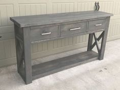 DIY furniture plans and tutorials for creating rustic furniture. DIY plans and woodworking plans include instructions on how to build DIY desks, farmhouse coffee tables, bedroom furniture, DIY kid builds, home improvement projects and much more. Diy Furniture Projects, Diy Furniture Plans, Rustic Furniture, Coaster Furniture, Entry Furniture, Furniture Buyers, Furniture Dolly, Distressed Furniture, Refurbished Furniture
