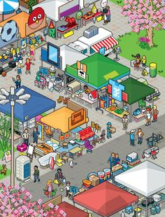 Illustration by Eboy Arts, Inc. (http://hello.eboy.com/eboy/) Harvard Business Review, March 2013