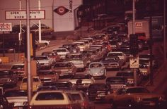 Traffic Scene, Omaha, Nebraska, 1973