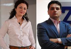 Doi tineri de 30 de ani, soţ şi soţie, fac cu firma lor din Bucureşti 2,3 milioane de euro pe an Euro, Blazer, Jackets, Fashion, Down Jackets, Moda, Fashion Styles, Blazers, Jacket