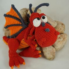 New IlDikko Amigurumi Pattern: Drew the Dragon  Have a nice crocheting time!