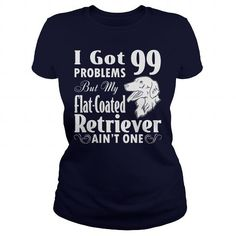 Flat Coated Retriever dog T Shirts, Hoodies. Get it now ==► https://www.sunfrog.com/LifeStyle/Flat-Coated-Retriever-dog-126009118-Navy-Blue-Ladies.html?57074 $23