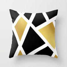 Feeling Gold  Throw Pillow by KASAMONART | Society6