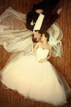 Awesome Wedding Poses For Bride And Groom ❤ See more: http://www.weddingforward.com/wedding-poses/ #weddings