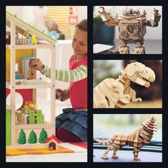 Build Your Own wooden products. Our shop has different wooden models which are precut to specific sizes. You construct these models yourselves. 3d Puzzles, Build Your Own, Dollhouses, Wooden Toys, Models, Building, Vehicles, Diy, Animals