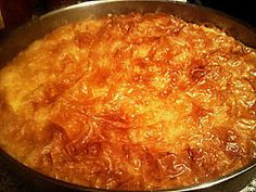 Συνταγές για διαβητικούς και δίαιτα: ΓΑΛΑΚΤΟΜΠΟΥΡΕΚΟ ΜΕ ΣΤΕΒΙΑ..!!!! Baked Spaghetti, Mixed Vegetables, Stevia, Sweet Recipes, Macaroni And Cheese, Food To Make, Crockpot, Curry, Food And Drink