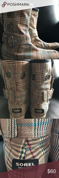 Sorel boots, size 7 Sorel boots. Very comfortable , gently used and in excellent condition. Sorel Shoes Ankle Boots & Booties