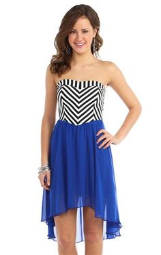 Cute Strapless Dresses For Kids