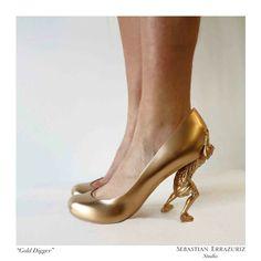 12 Shoes for 12 Lovers  | Exhibition by Sebastian Errazuriz | Art
