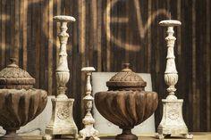 Candlesticks #decor #wood #candlesticks