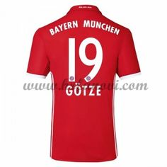 Bayern Munich Nogometni Dresovi 2016-17 Gotze 19 Domaći Dres Komplet