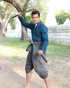 Traditional Thai Clothing, Mario Maurer, Lead Role, Thai Model, Super Star, Beautiful Men, First Love, Celebs, Asian