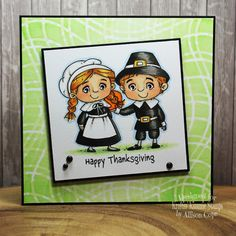 It's Turkey Day!!! Little Boy And Girl, Little Boys, Boy Or Girl, Thanksgiving Cards, Ink Pads, Copic Markers, Pilgrim, Card Stock, Stencils