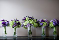 Purple and Green Bridal Bouquets 550x372 Best Flowers for Spring Weddings in the Washington DC Area