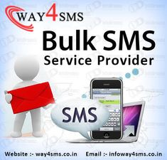 way 4 sms is a best bulk sms provider company in india. We provide all sms service in nominal prices, Call now 9990210700 for free demo Internet Entrepreneur, Business Requirements, Effective Communication, Cryptocurrency, Marketing, Software, Free