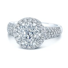Gorgeous Halo Engagement Ring <3