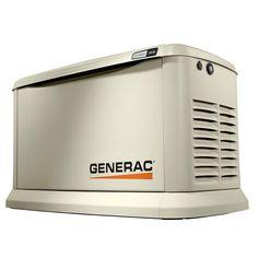 15,000-Watt Air-Cooled EcoGen Standby Generator, Aluminum Enclosure