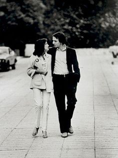 "Carl Sagan! Ph103 memories! :"">    Ann Druyan and Carl Sagan circa 1977. (Such an aDorkable & romantic couple...)"