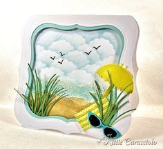 Colors of Summer by kittie747 - Cards and Paper Crafts at Splitcoaststampers
