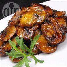 Rezeptbild: Frische Pilze in Sojasoße