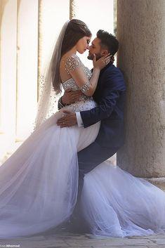 Said Mhamad Photography Princess Wedding Dresses, Dream Wedding Dresses, Wedding Gowns, Wedding Corset, Wedding Blush, Arab Wedding, Wedding Pics, Wedding Bride, Wedding Ideas