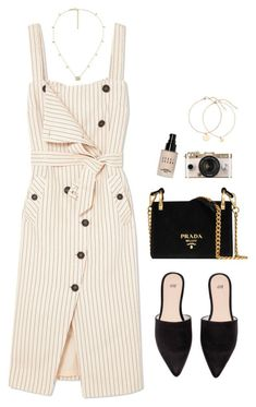 """""""Untitled #1376"""" by shannonmichellex ❤ liked on Polyvore featuring Altuzarra, Prada, Gucci, Urban Outfitters and Bobbi Brown Cosmetics #urbanmoda"""