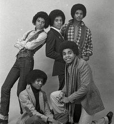 The Jacksons by Peter Mazel Jackie Jackson, The Jackson Five, Randy Jackson, Jackson Family, Jermaine Jackson, Michael Jackson Quotes, Gary Indiana, The Jacksons, Family Values