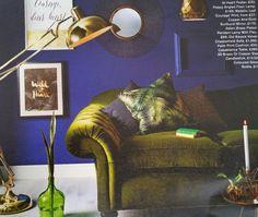 Vibrant interior...Rich colours