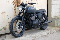 Triumph Bonneville T100 #crd31 by Cafe Racer Dreams
