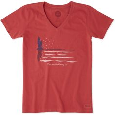 5491bba552b  p It all starts with a great tee and this Short Sleeve Crusher Vee