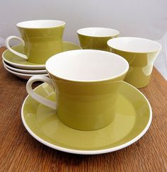 Mikasa Duplex by Ben Seibel Set of 4 Cups and 4 by CampHoneybelle, $16.00