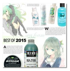 """""""Hair -best of 2015"""" by dolly-valkyrie ❤ liked on Polyvore featuring beauty, Briogeo, Venus, Bumble and bumble, H2O+ and bestof2015"""