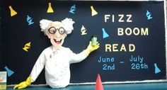 Fizz Boom Read- SRP 2014 Bulletin Board put up 5/6/2014